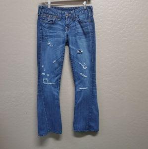 True Religion Jeans Size 27 Joey Dark Hollow First